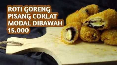 jajan pasar seribuan roti goreng pisang coklat youtube
