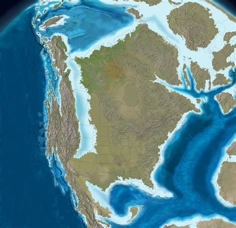 million years ago north america 100 million years ago 1000x966 os mapporn