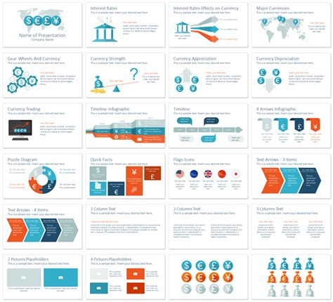 slide deck templates currency powerpoint template presentationdeck