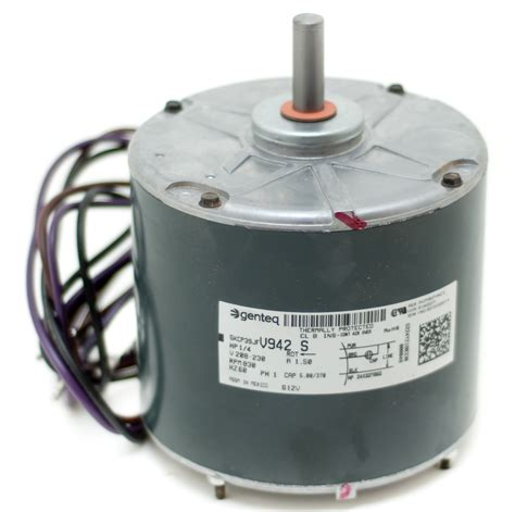 ac fan motor capacitor replacement condenser fan motor b13400271s goodman amana 1 4 hp 1 speed 830 rpm goodman repair parts