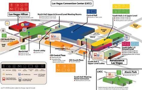 las vegas convention center floor plan tech world gathers for ces technology science tech