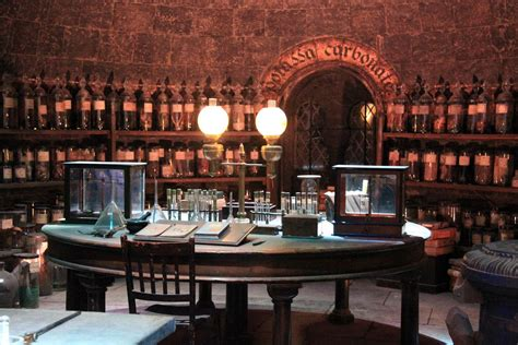 Brass Kitchen F the making of harry potter 29 05 2012 potions classroom