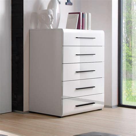 schlafzimmer kommode weiß hochglanz kommode harmonys schlafzimmer hochkommode wei 223 hochglanz