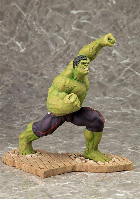 Original Kotobukiya Vs Hulkbuster Set buy toys and models marvel comics artfx pvc statue 1 10 24 cm age of ultron
