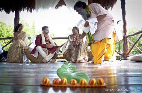 Wedding Blessings Mexico by Hindu Destination Wedding Mexico Photos In Cancun