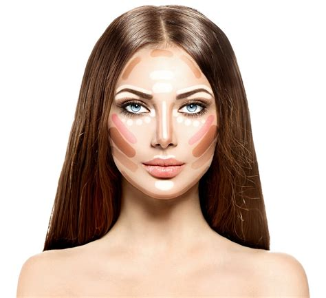 Make Professional Highlight by Subtle Makeup Contouring For Every Day Cosmetology