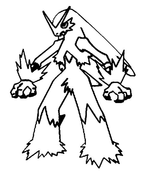 pokemon coloring pages mega blaziken free coloring pages of pokemon blaziken
