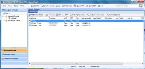 vnc console vnc scan enterprise console