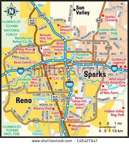 reno usa map newport rhode island area map stock vector 146287241