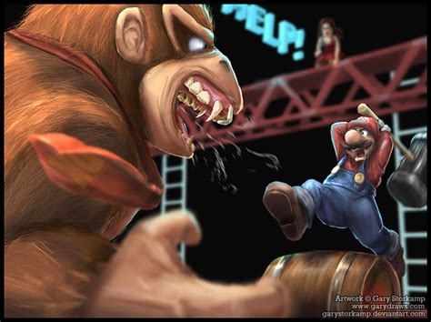 imagenes epicas mario donkey kong vs mario the final meeting by 1lastrun