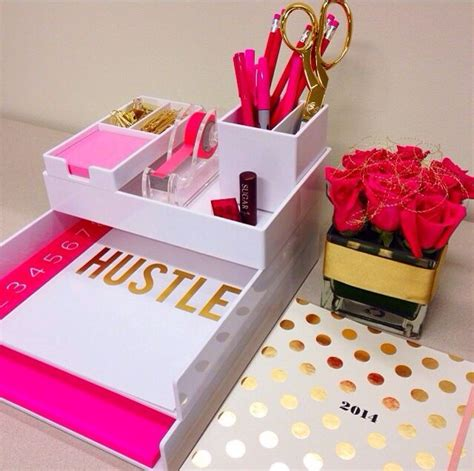 pink and gold desk accessories best 25 pink study desks ideas on pink home
