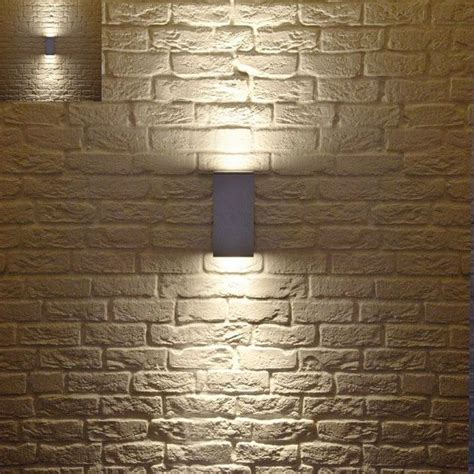 Patio Wall Lighting Ideas Contemporary Outdoor Lighting Fixtures Set Exposed Brick Wall Contemporary Outdoor