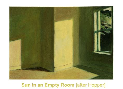 sun in an empty room other artwork page two