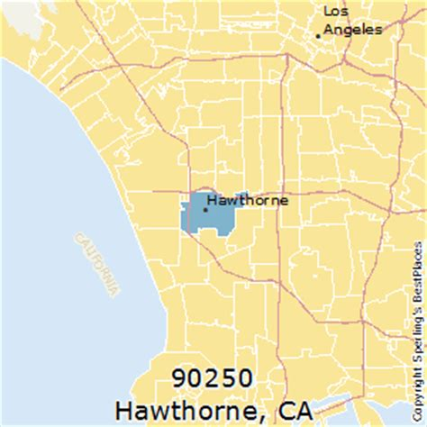 hawthorne california best places to live in hawthorne zip 90250 california