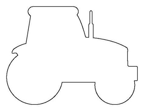 templates tractor outline tractor stencil diy tractor