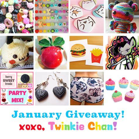 Sponsor Giveaway - january blog sponsor giveaway twinkie chan blog