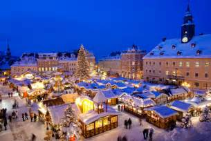 Most famous christmas holiday destinations in europe