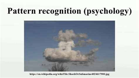 youtube pattern recognition pattern recognition psychology youtube