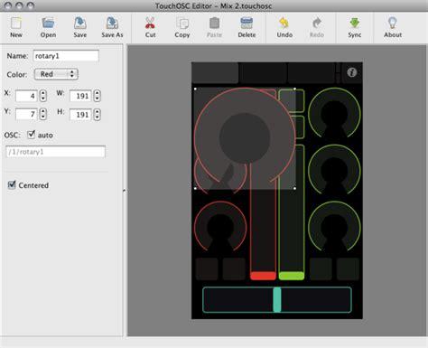 layout editor touchosc touchosc editor iphone mac windows make custom osc