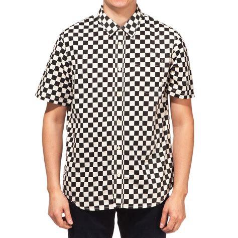 Kaost Shirt Vans Grey 1 vans cypress checker shirt black whitecaps