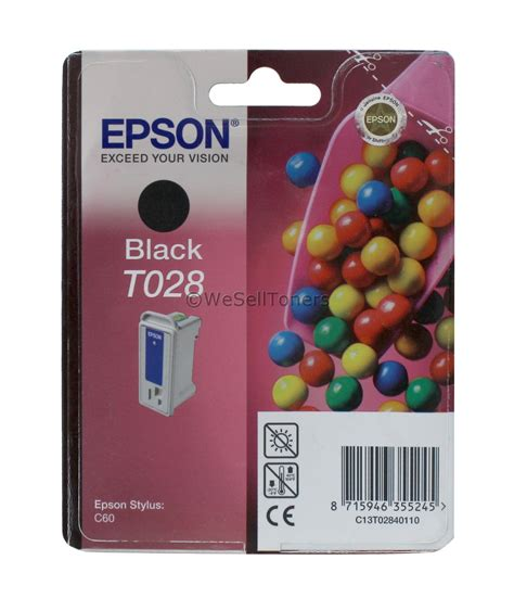 Catridge Epson Original Wadah Tintat07641 Black epson t028 black ink cartridge t028201 genuine new ebay