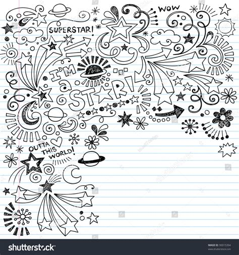 sign up for doodle account handdrawn superstar scribble inky doodles back stock