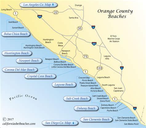 map of orange county orange county bing images