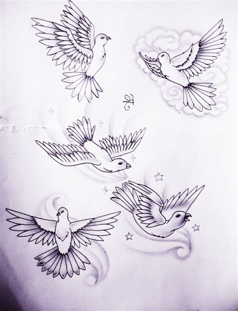 dove tattoo designs tattoo collections