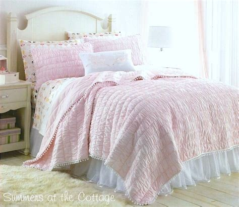 cottage comforters shabby cottage chic bedding twin quilts comforter rag