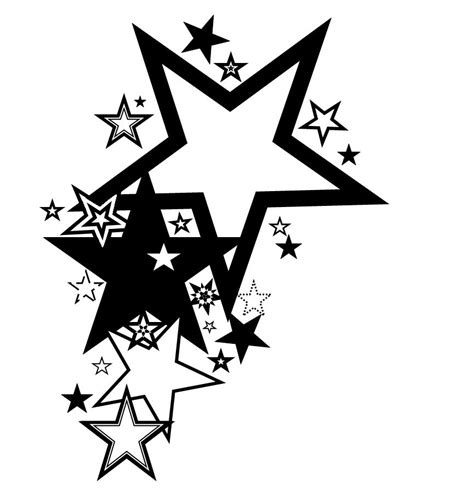 black star tattoo free pictures