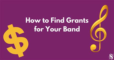 How To Find For A Band How To Find Grants For Your Band Band Directors Talk Shop