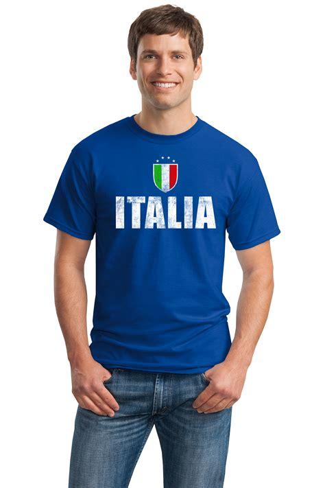 italia futbol unisex t shirt italian italy
