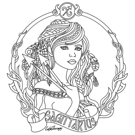 zodiac coloring pages 639 best embroidery designs 2 images on pinterest