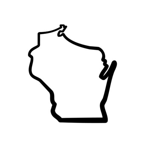 State Of Wi Background Check Wisconsin Icon 115434 187 Icons Etc