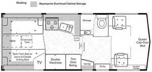 24 Foot Motorhome Floor Plans Lazy Daze 24 Foot Twin King Bed Motorhome Magazine