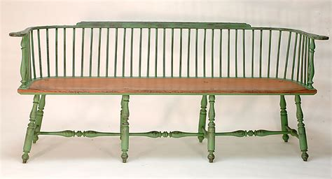 Low Back Settee Bench Settees Crouse Workshop
