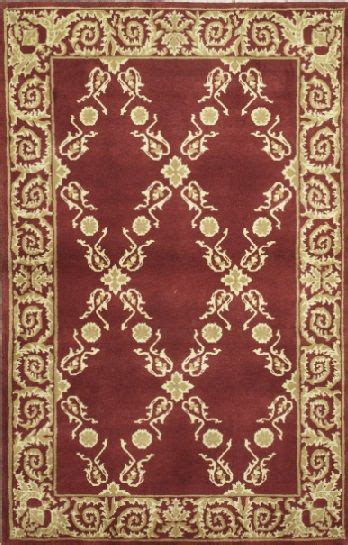 handmade rectangular european area rug in red with grey 17 best images about gold burgundy on pinterest gold