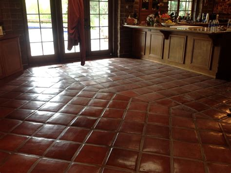 mexican saltillo tile floor pictures