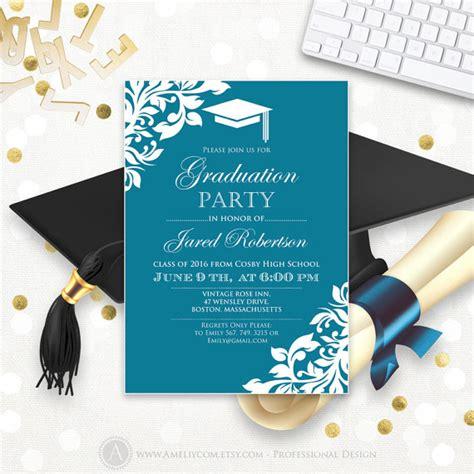 college graduation invitation template 28 images 7
