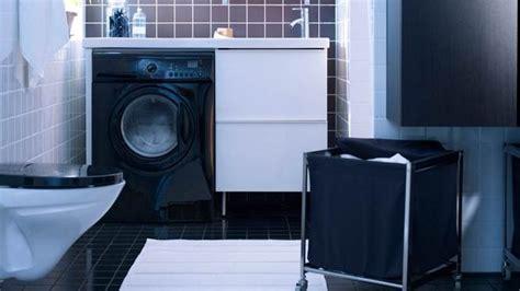 meuble vasque lave linge