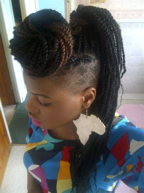 two strand twists vs senegalease braids 65 best images about shaved sides braids twists on
