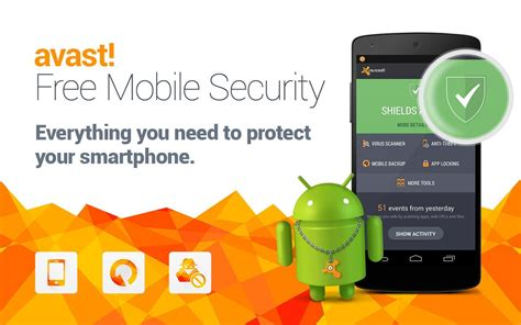 free mobile antivirus avast antivirus para android descargar apps