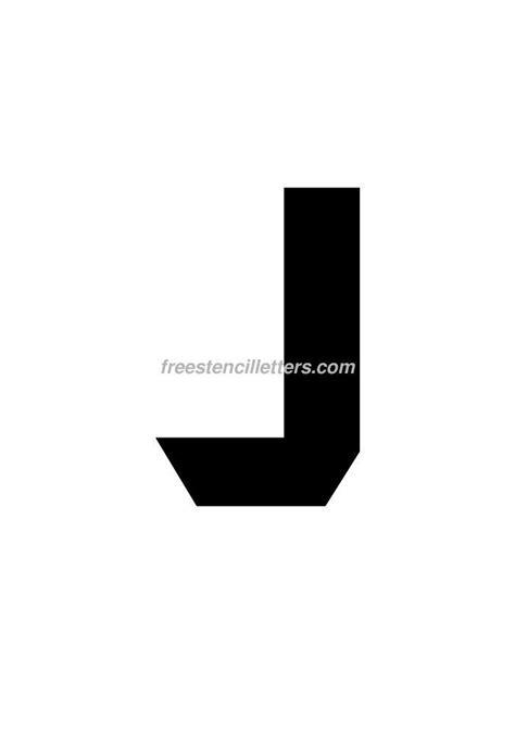 printable 9 inch letter stencils print 9 inch j letter stencil free stencil letters