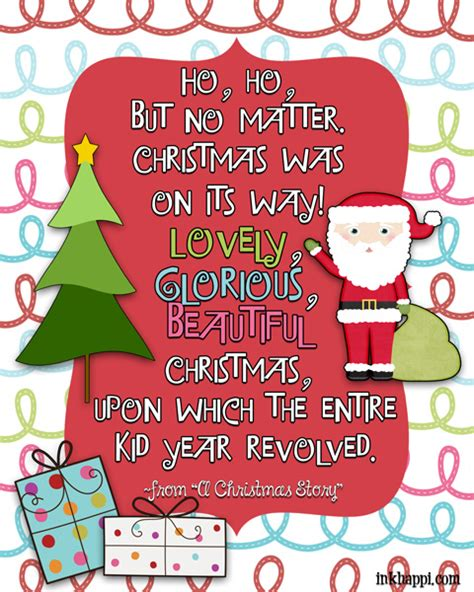 christmas movie quotes free printables inkhappi