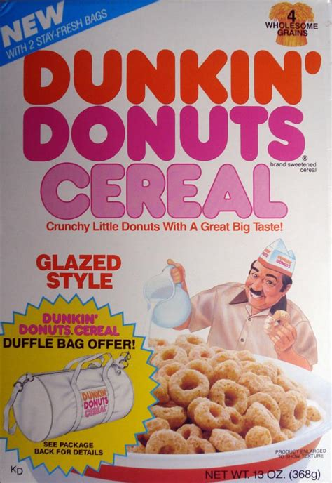 Rachael Doesnt Like Dunkin Donuts Coffee Any More Than We Do by Semaj S Your Cereals That Aren T Around Anymore