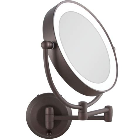 magnifying mirror for bathroom wall wall lights design mountable makeup lighted wall mount
