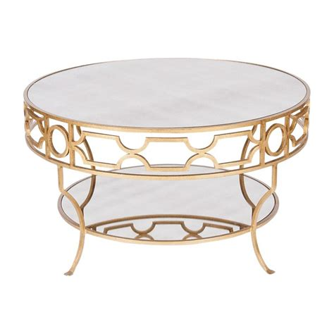 Gold Table L Gold Coffee Tables Treillage Cfg Gold Leaf Two Nurani