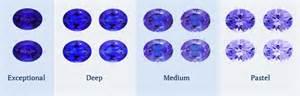 tanzanite color blue violet tanzanite ring 18 k yellow gold