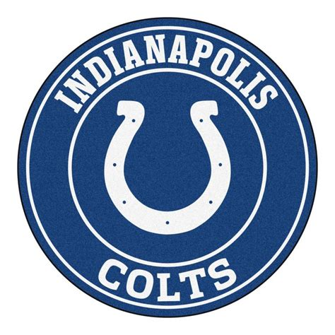 colts colors roundel mat indianapolis colts logos colors and the o