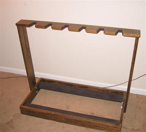 Guitar Rack Wood by Wooden Guitar Stand